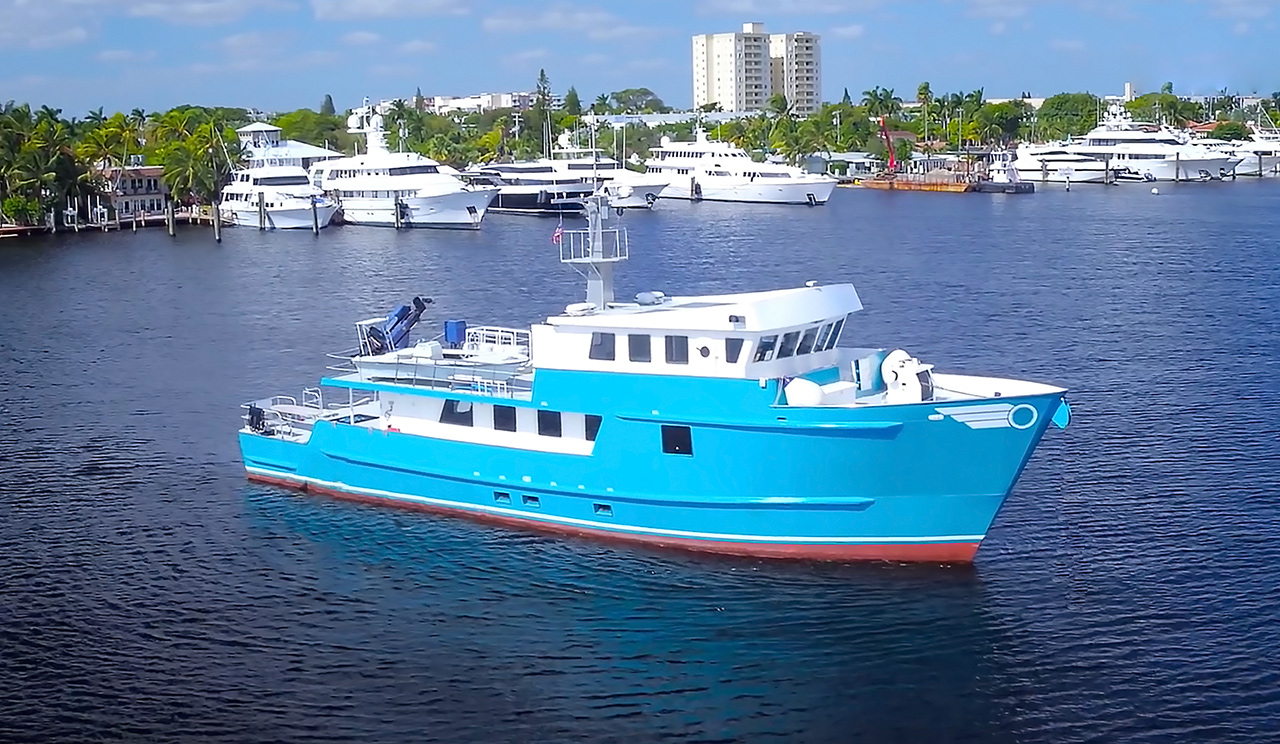 CHAGOS Expedition Fishing Vessel For Sale