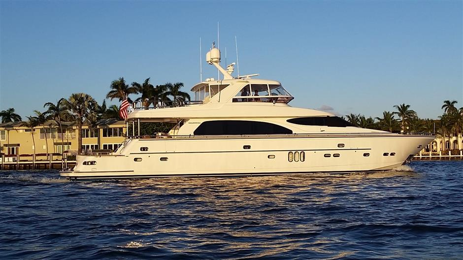 OUR WAY – 82′ Horizon Yacht For Sale