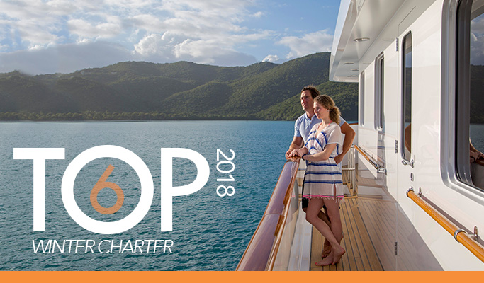 Top 6 Charter Yachts for Winter 2018