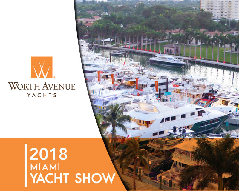 Charter Yachts At The Miami Yacht Show