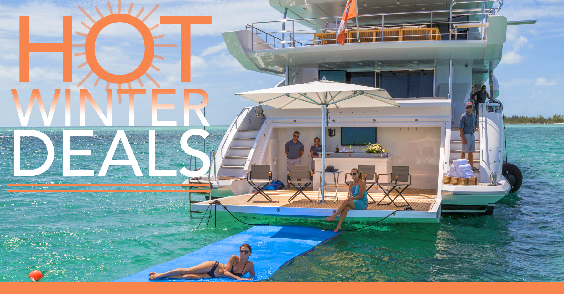 Hot Yacht Charter Deals for February