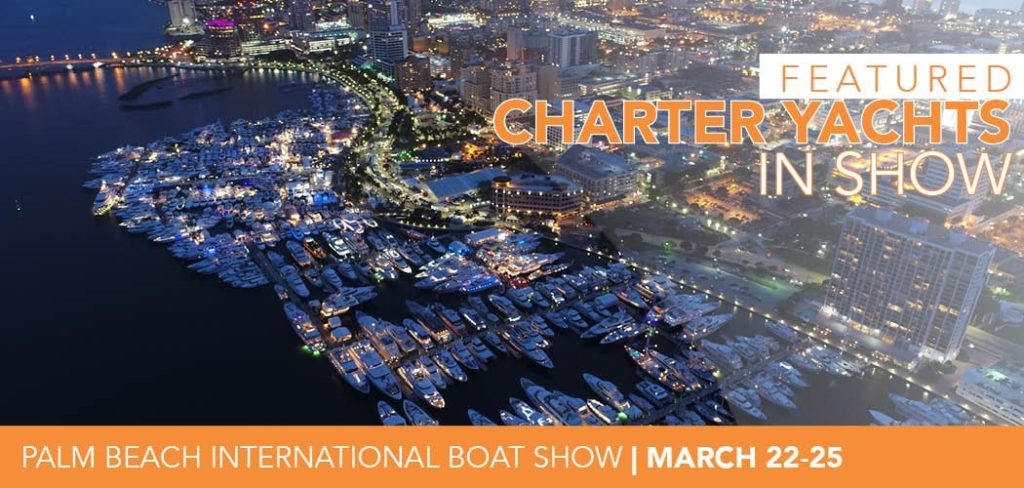 Charter Yachts In Palm Beach International Boat Show