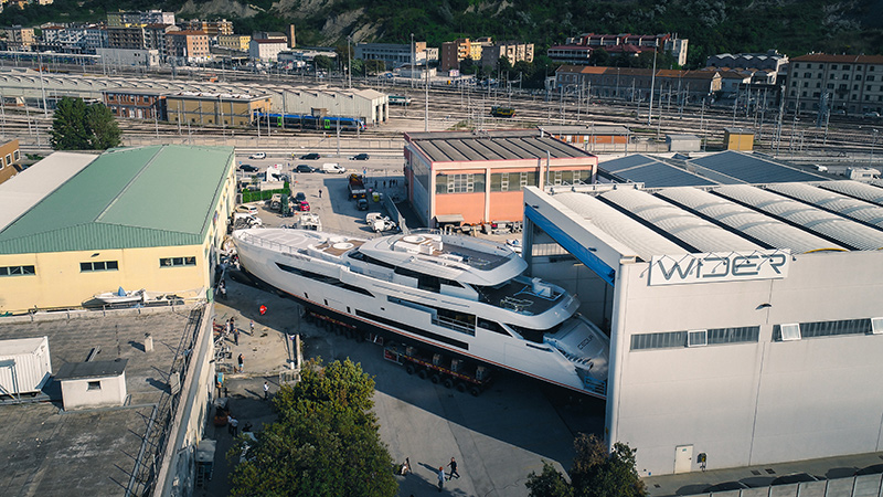 The New 165 Wider Yacht CECILIA
