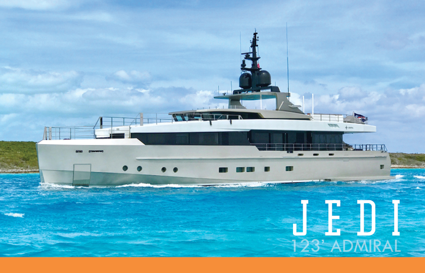 Admiral yachts for sale Jedi