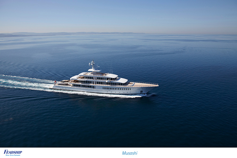 Feadship's Performance on the Brokerage Yacht Sales Market
