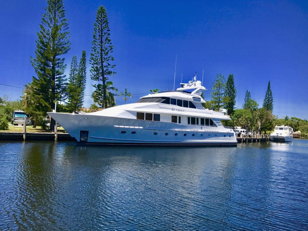 New Central Listing | 100' Inace Motor Yacht BY GRACE