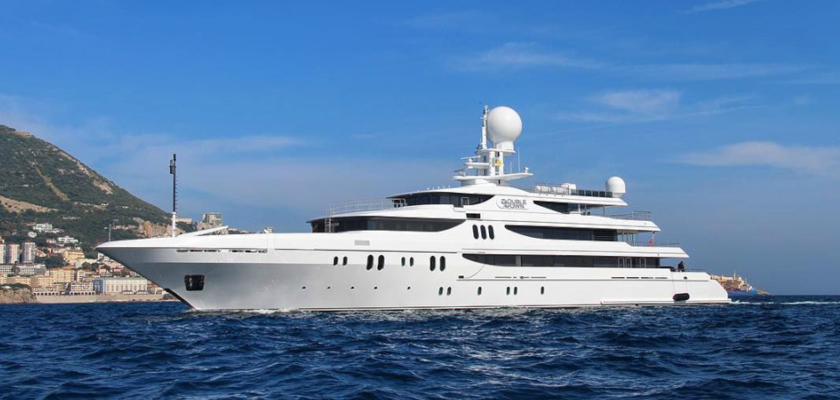 SOLD! 65m Codecasa Yacht DOUBLE DOWN