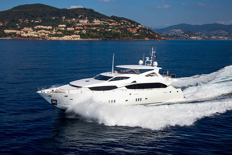 34m Sunseeker Yacht FRIVOLOUS Now For Sale With Worth Avenue Yachts