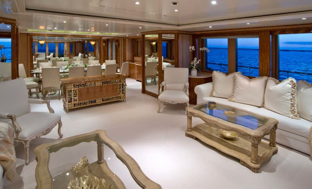 Benetti yachts for sale LUMIERE interior