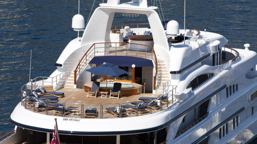 Benetti yachts for sale Freedom exterior