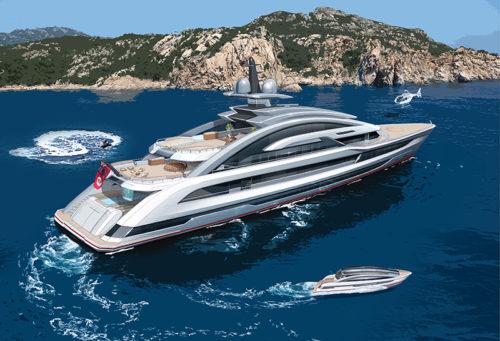 80m Dutch Yacht Heesen COSMOS2