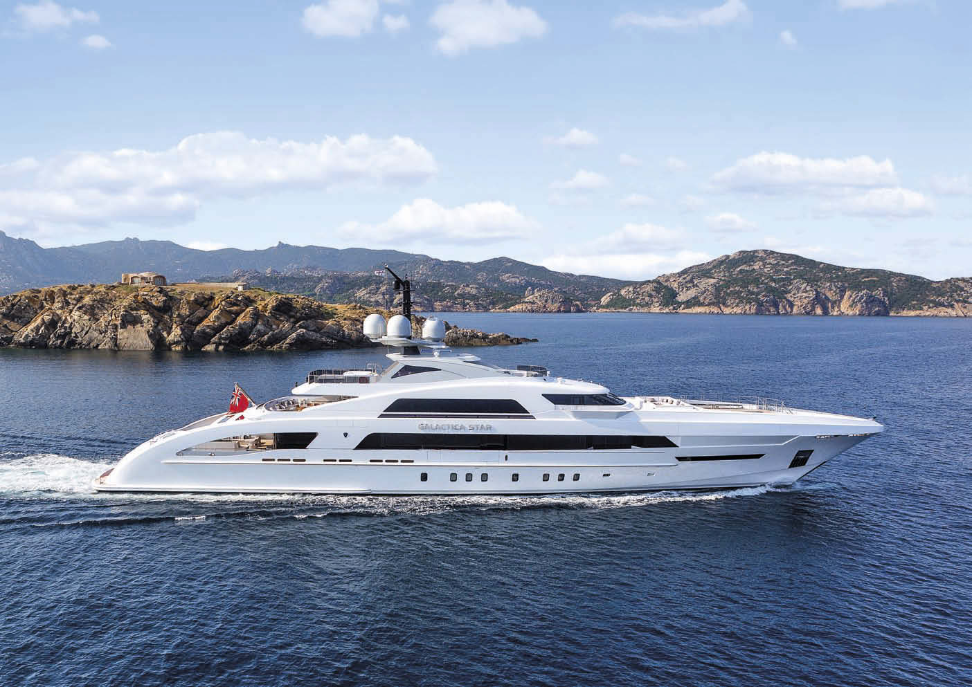 Yacht GALACTICA STAR Delivered by Heesen