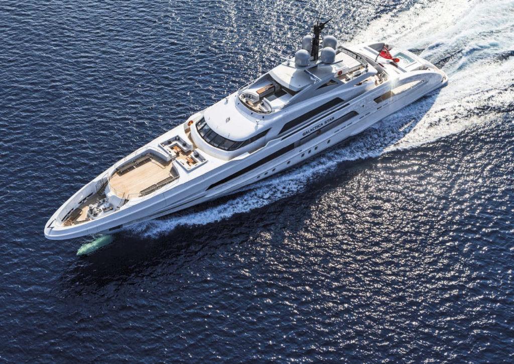 Heesen Yacht GALACTICA STAR
