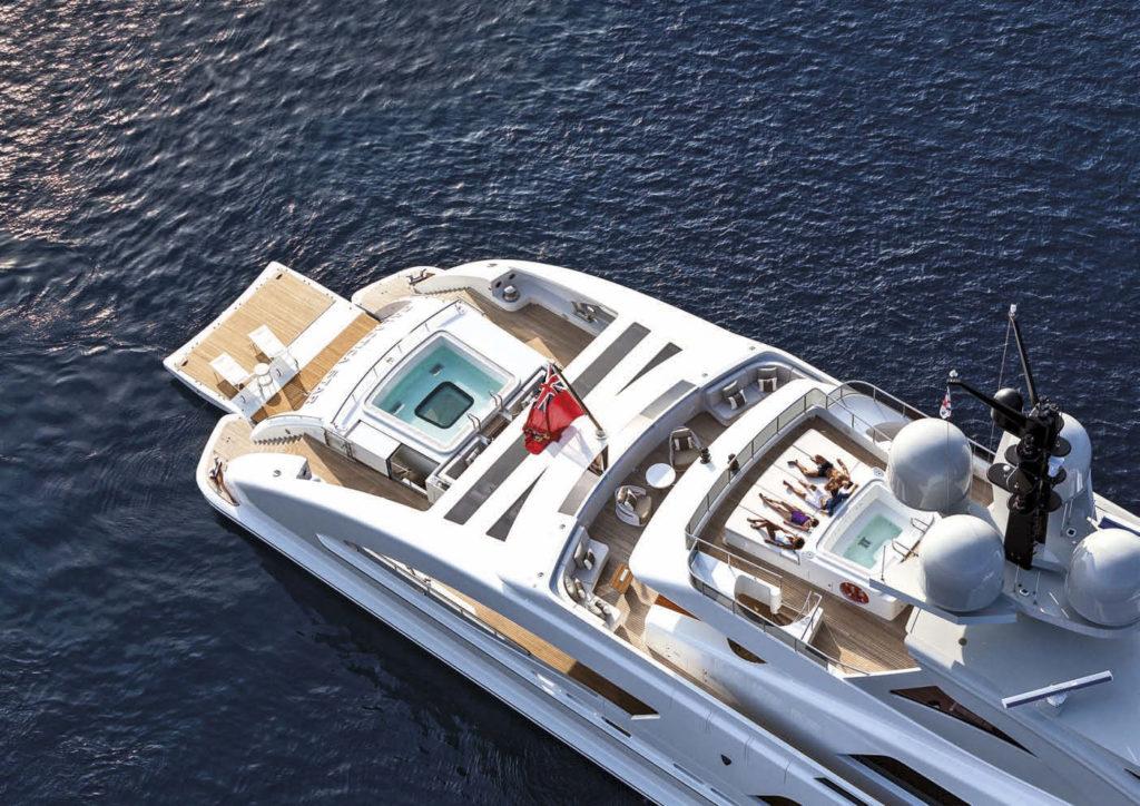 Heesen Yacht GALACTICA STAR sun deck