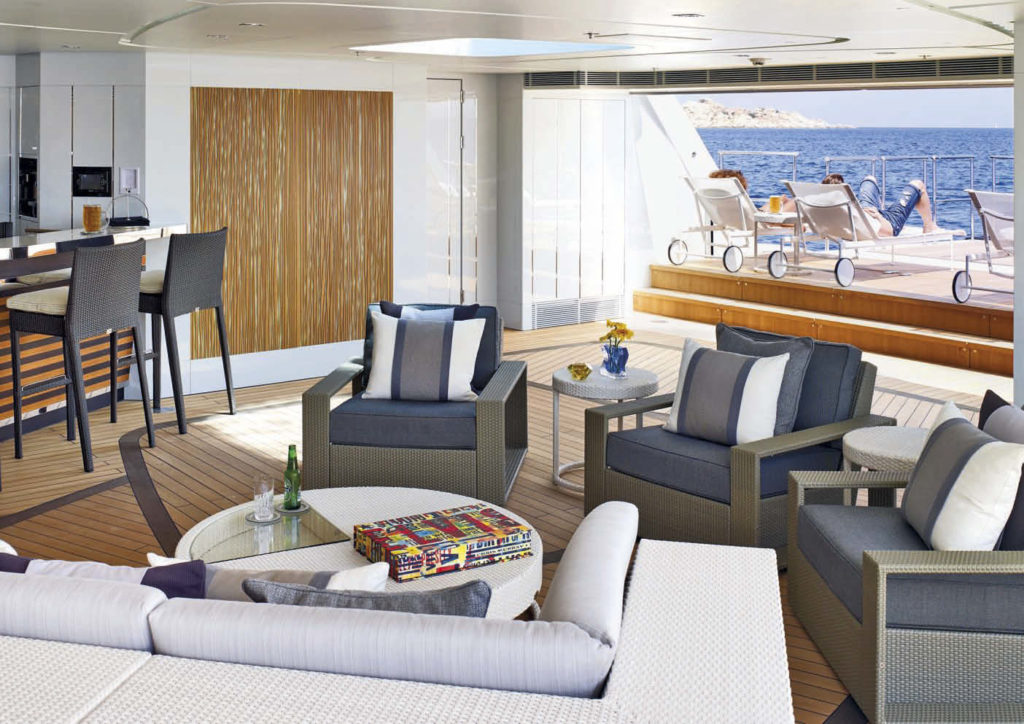 Heesen Yacht GALACTICA STAR_Beach Club