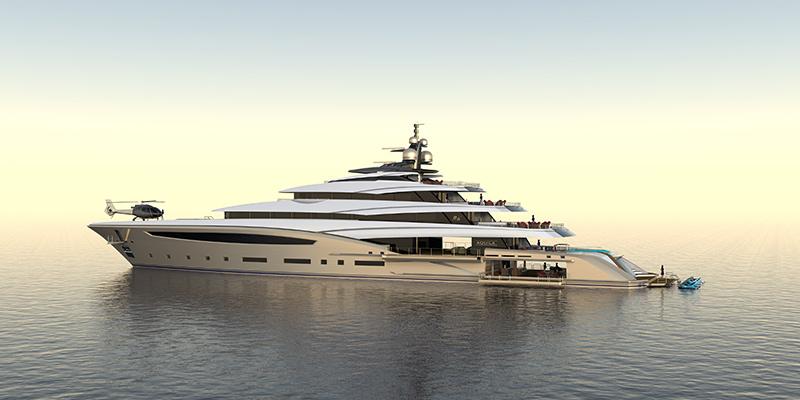 Custom 85m Yacht