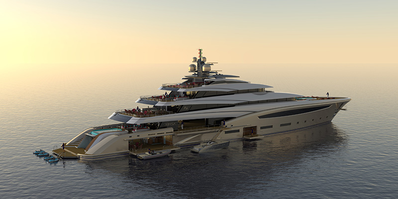 Introducing: The Custom 85 Meter Superyacht