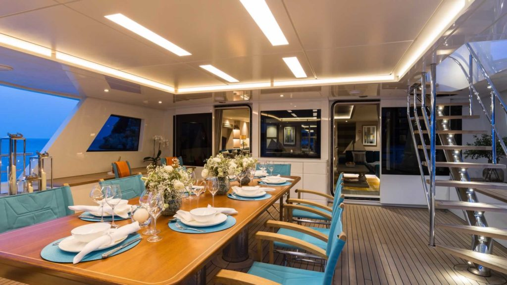 interior on La Passion Sarp Yachts for sale
