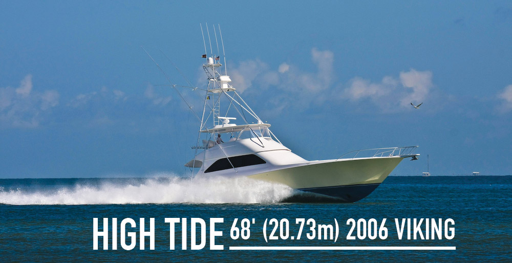 HIGH TIDE 68′ (20.73m) 2006 Viking Sportfish