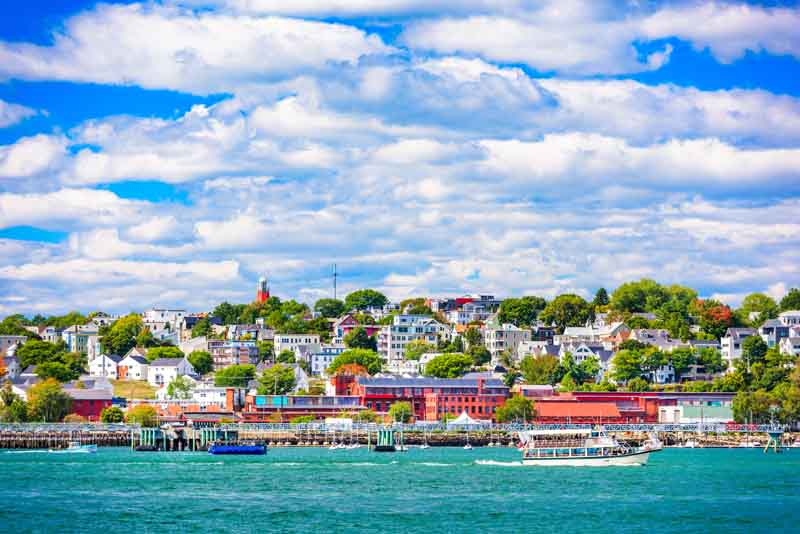 Luxury Yacht Charter New England: Newport to Portland