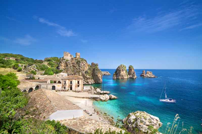 Yacht Charter Itinerary Sicily