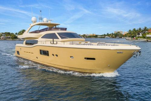FERRETTI Altura 840 SEVEN DIAMONDS 84 Yacht for sale