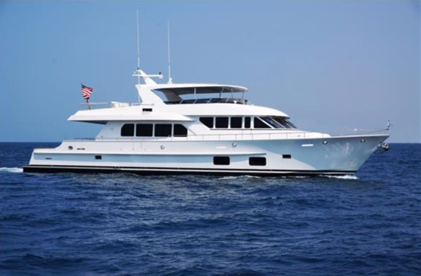 Paragon Yacht on display at the 2019 Palm Beach International Boat Show