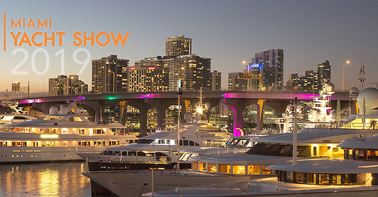 The 'New' Miami Yacht Show 2019
