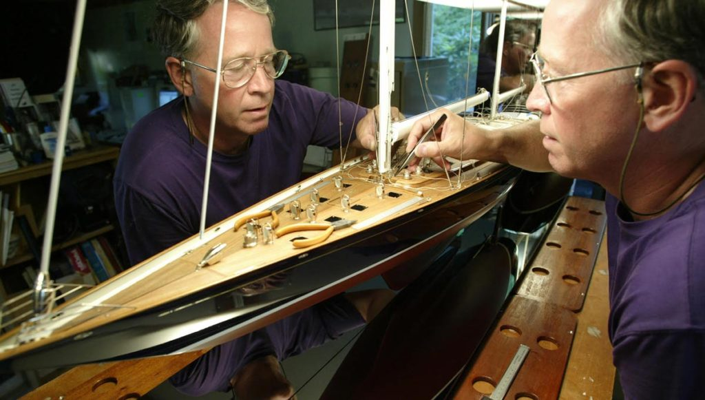The Making of a Yacht Model