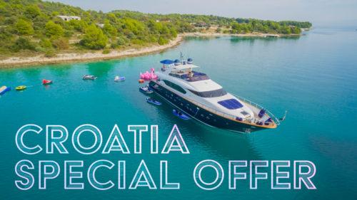 ASHA Yacht for charter in Croatia