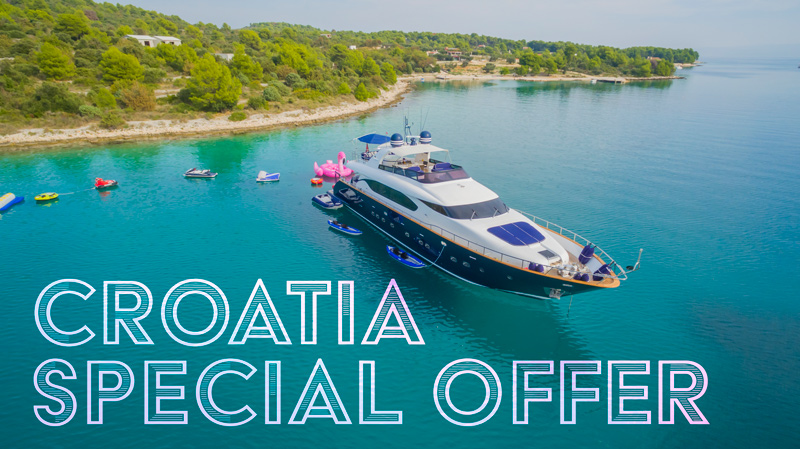 SPECIAL RATE! Charter 92′ ASHA in CROATIA