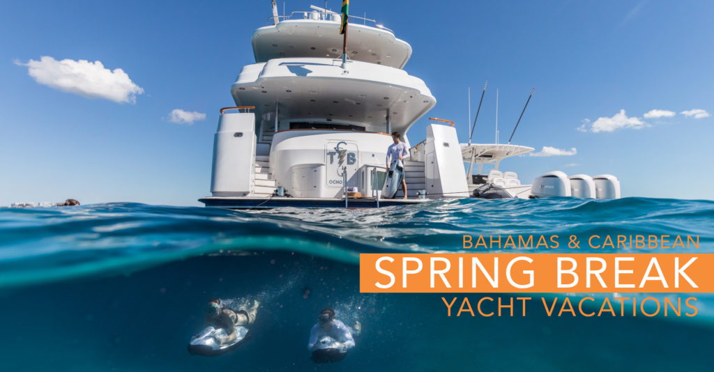 Spring Break: Luxury Yacht Style