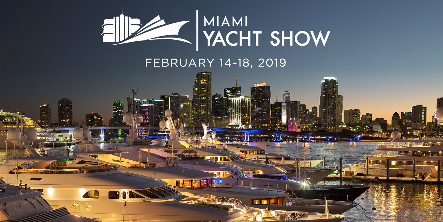 Just One Week Until the Miami Yacht Show!