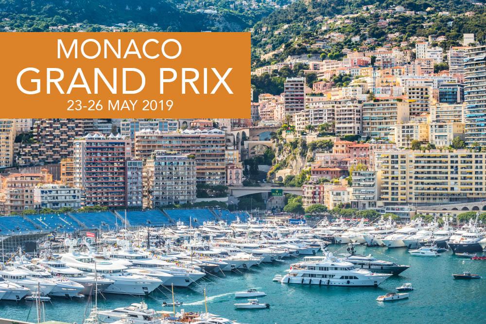Monaco Formula One Grand Prix 2019