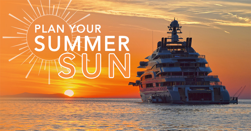 It's Time To Start Planning Your Summer Sun!
