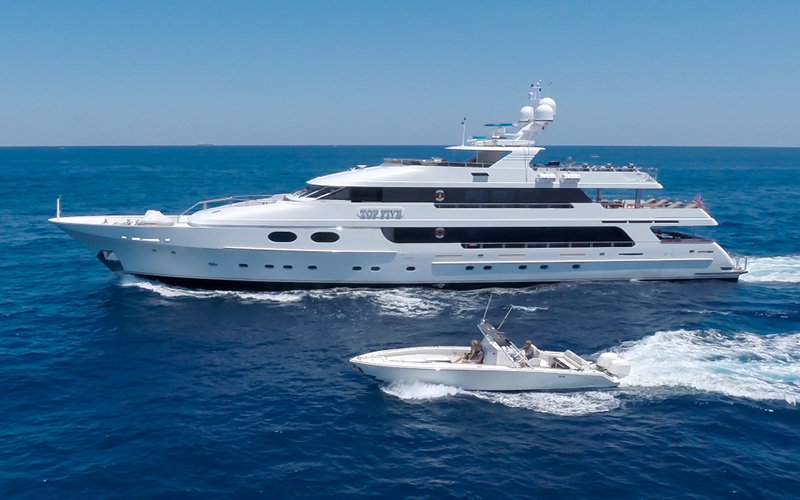 Top Five Yacht for Charter