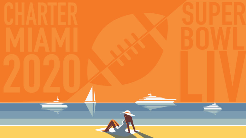 Charter a Yacht for Super Bowl 2020 in Miami: Super Bowl LIV