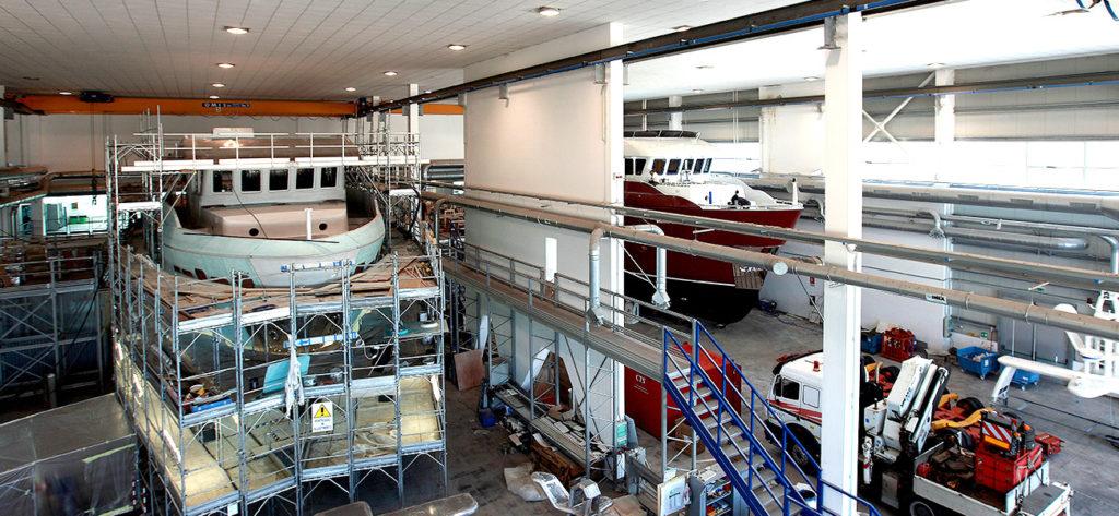 Inside the Shipyard: Cantieri Delle Marche 2019