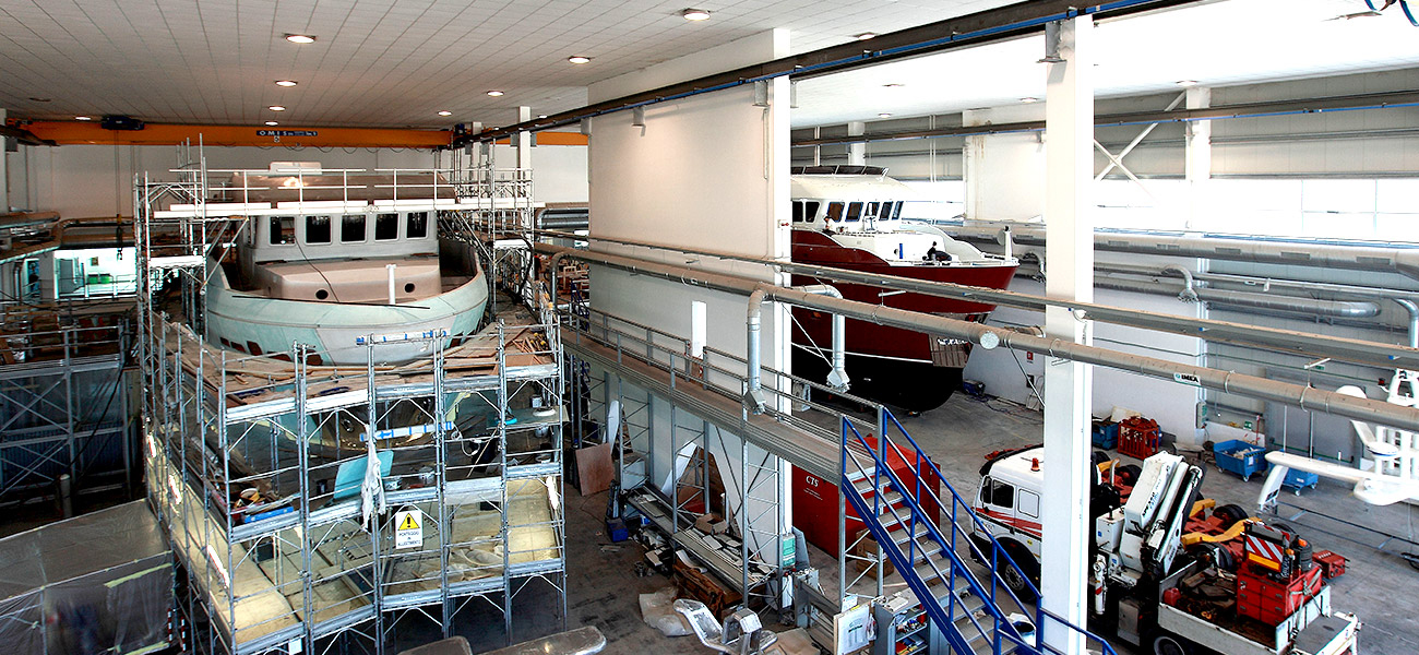 Inside the Shipyard: Cantieri Delle Marche 2019