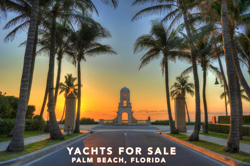 Luxury Yachts For Sale Palm Beach, Florida