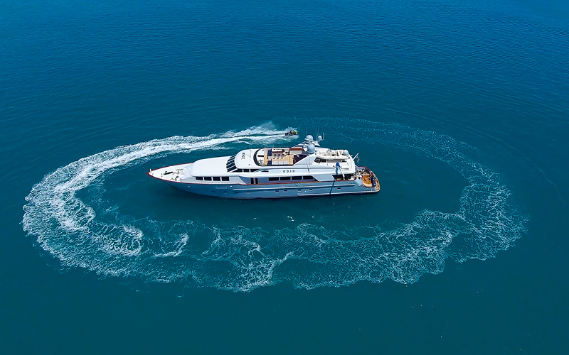 Trinity yacht ODIN for charter