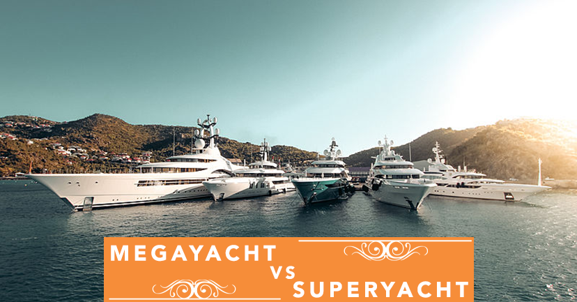 Megayacht VS. Superyacht