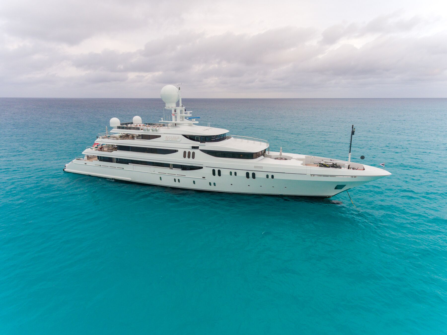 DOUBLE DOWN 214′ – LUXURY YACHT FOR SALE