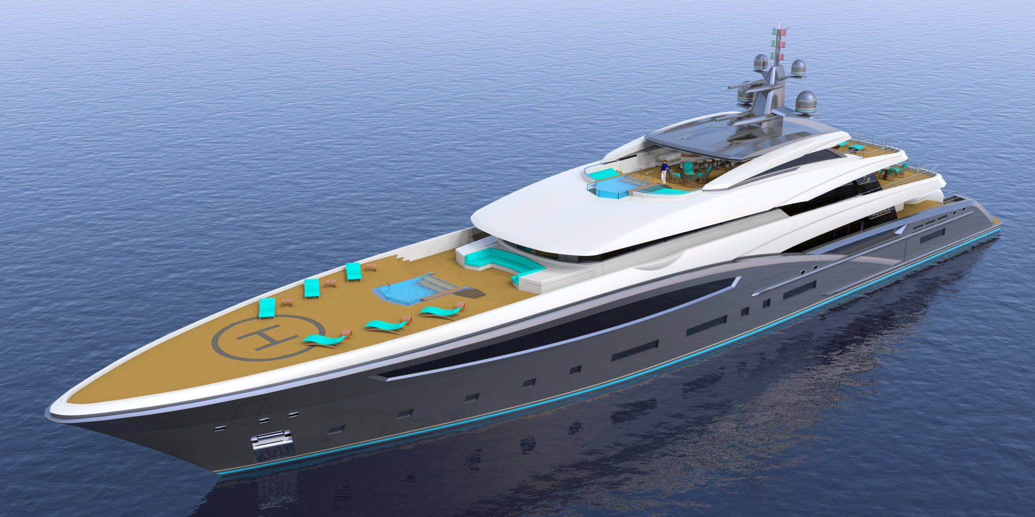 THE NEW BUILDS OF LUXURIOUS YACHTS