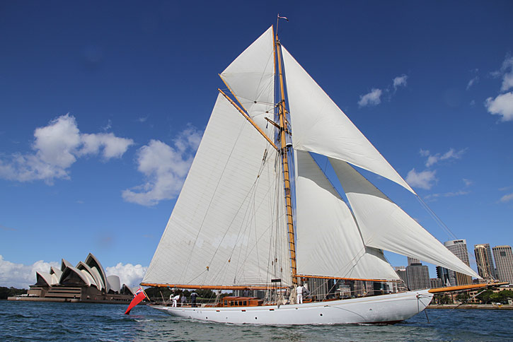 Circumnavigate the World On Classic Sailing Yacht MERRYMAID