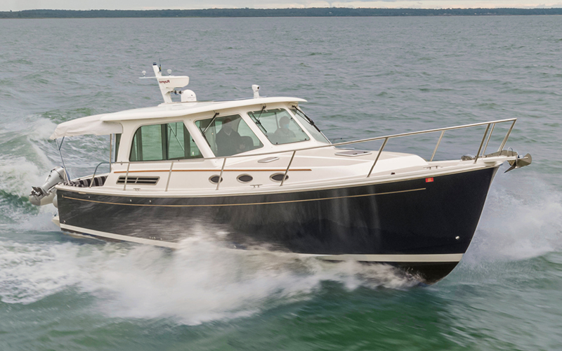 Seattle Boats Afloat 37 Back Cove Yacht for sale