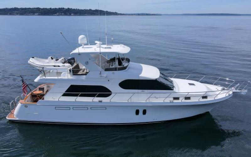 Seattle Boats Afloat 62 Ocean Alexander Yacht for sale