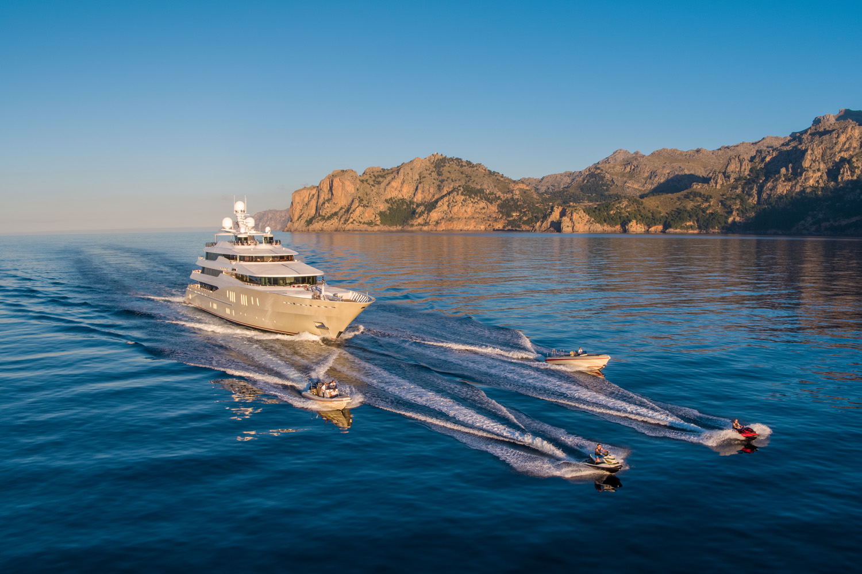 257′ Abeking & Rasmussen Yacht EMINENCE For Charter