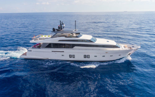 Sanlorenzo yacht for sale TIME OUT