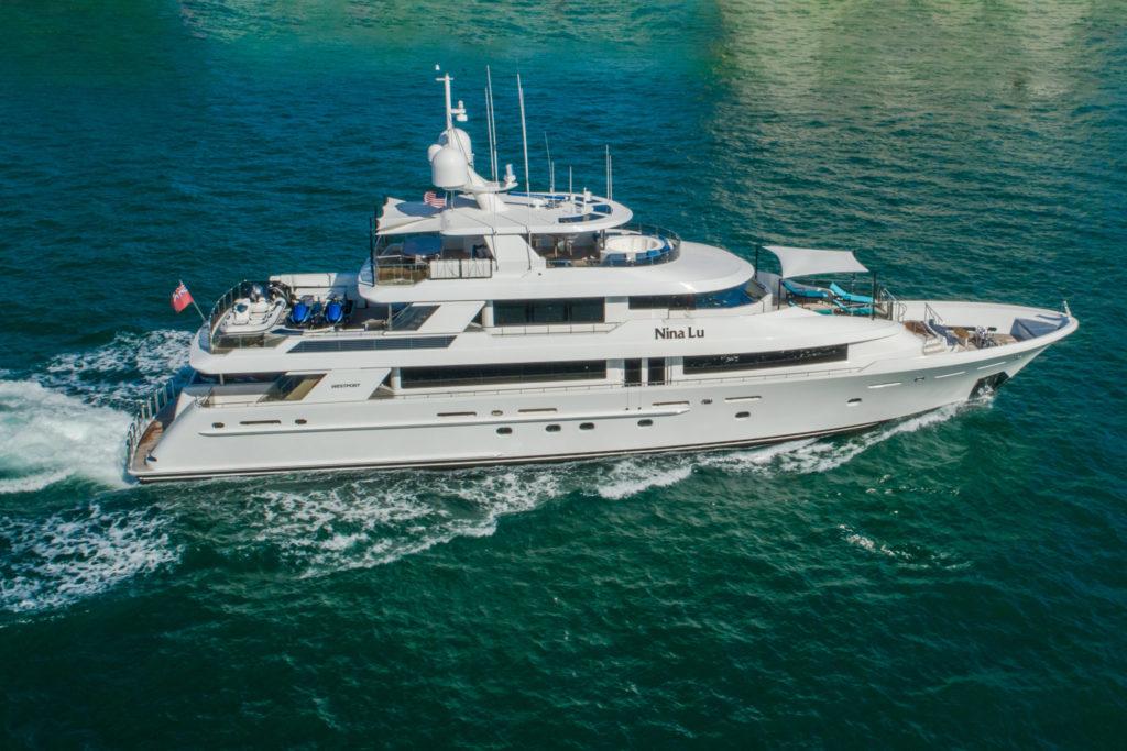 40m Westport Yacht NINA LU now for sale